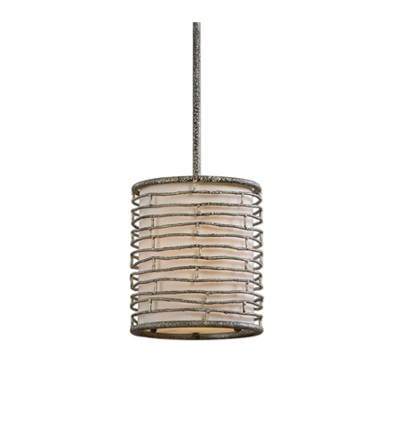 Uttermost 22072 Smida 1 Light 8 inch Iron Mini Pendant Ceiling Light