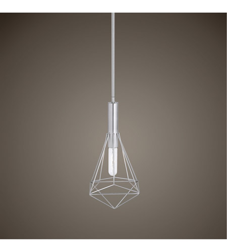 Uttermost 22124 Proteus 1 Light 7 inch Brushed Nickel Mini Pendant Ceiling Light 22124_Lifestyle.jpg