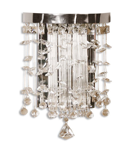 Uttermost Fascination Wall Sconce in Chrome 22445 photo