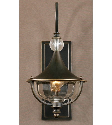 Uttermost Orleon 1 Light Wall Sconce in Oil Rubbed Bronze 22488