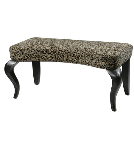 Uttermost Karyssa Bench in Animal Print 23097 photo