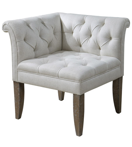 Uttermost 23125 Tahtesa Corner Chair photo