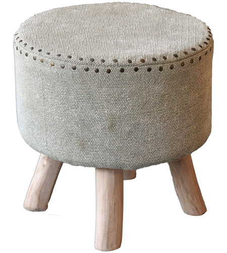 Miraculous Uttermost 23966 Lucas 18 Inch Soft Sage Green With Eucalyptus Wood Accent Stool Pdpeps Interior Chair Design Pdpepsorg