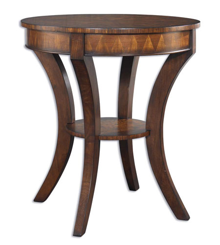 Uttermost Ericson Lamp Table in Richly Antiqued Sunwashed Pecan 24015 photo