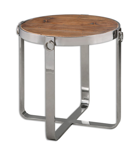 24 X 24 Coffee Table.Uttermost 24486 Berdine 24 X 24 Inch Wood Side Table