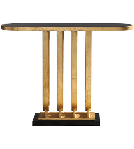 Uttermost 24826 Sabrina 26 Inch Gold Console Table Photo
