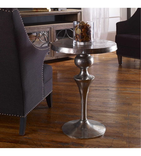 Uttermost 25036 Noland 29 X 21 inch Aluminum Accent Table 25036.jpg