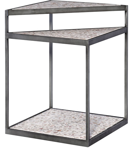 Uttermost 25070 Terra 22 X 17 inch Accent Table, Modern