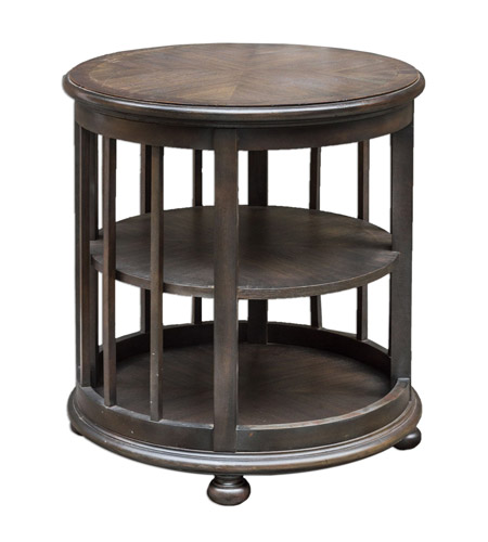 Uttermost 25680 Nolea 28 X 26 inch Mango Wood End Table