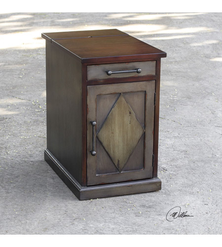 Uttermost 25792 Breccan 23 X 14 Inch Mango Wood End Table Photo
