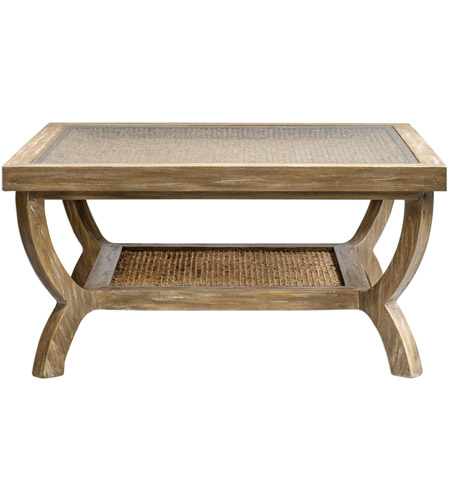 Uttermost 25834 Cameron 36 X 18 Inch Weathered Oak Coffee Table Photo
