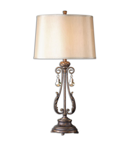 Uttermost 26145 Cassia 35 inch 150 watt Oil Rubbed Bronze Table Lamp Portable Light photo thumbnail