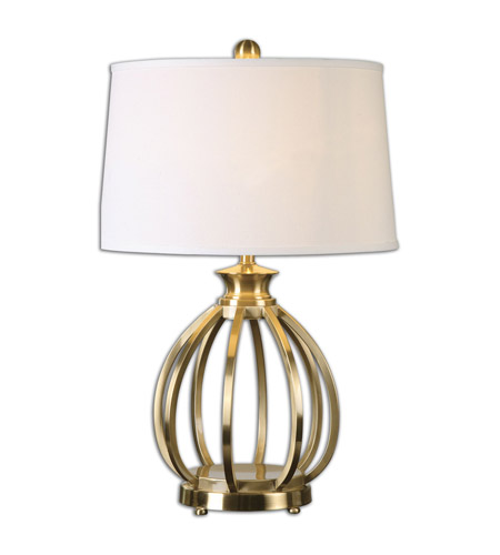 Uttermost Brass Metal Table Lamps