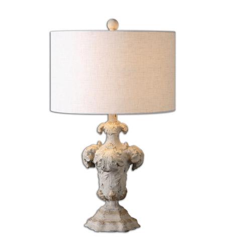 Cassano 24 Inch 100 Watt Aged Ivory Table Lamp Portable Light