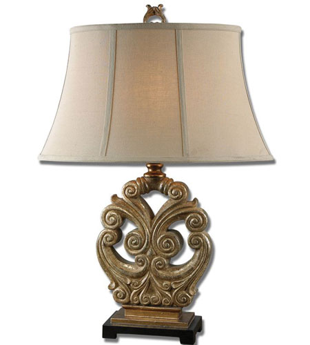 Uttermost Sellano Gold Table Lamp in Gold 26283 photo