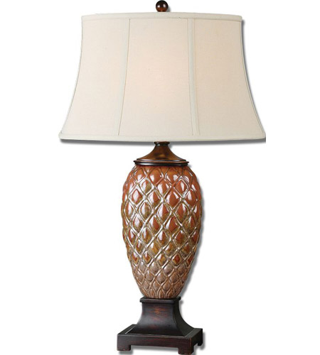 Uttermost Pianello Table Lamp in Rust Brown 26284 photo