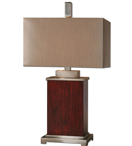 Uttermost Brimley Modern Wood Table Lamp in Wood 26290-1 photo