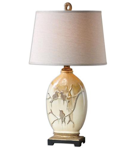 Uttermost 26498 pajaro 33 inch 150 watt aged ivory table lamp uttermost 26498 aloadofball Images