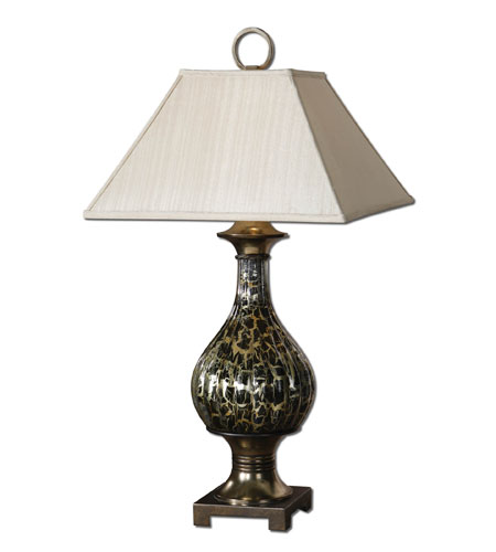 Uttermost Fredonia Table Lamp in Fluted Glass 26519 photo