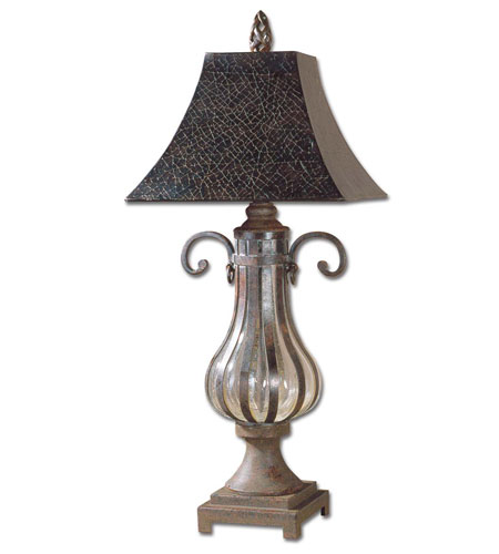Uttermost Galeana Table Table Lamp in Antique Bronze 26622 photo