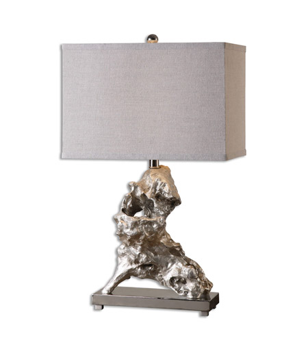 Uttermost Resin Fabric Metal Table Lamps