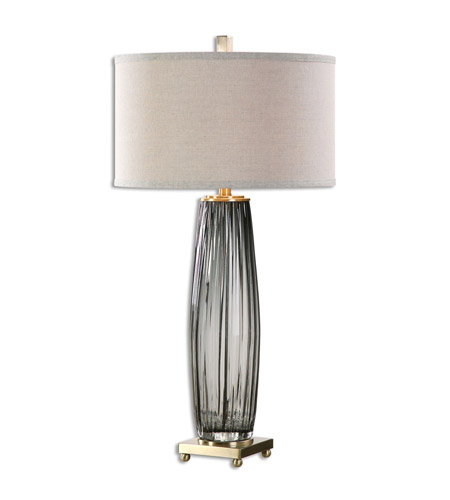 Uttermost Gray Metal Table Lamps