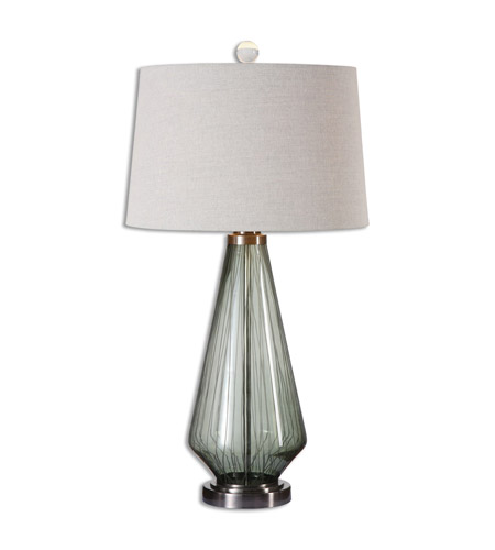 Uttermost Stezzano 1 Light Table Lamp in Gray 26711
