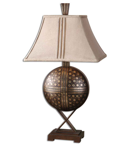 Uttermost Darius Table Table Lamp in Hand Rubbed Mocha Bronze 26730 photo