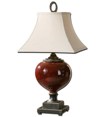 Uttermost 26855 Anka 33 inch 150 watt Heavily Antiqued Dark Bronze Table Lamp Portable Light photo