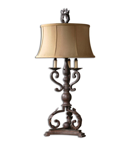 Uttermost Hope Table Table Lamp in Mahogany Bronze 26916 photo