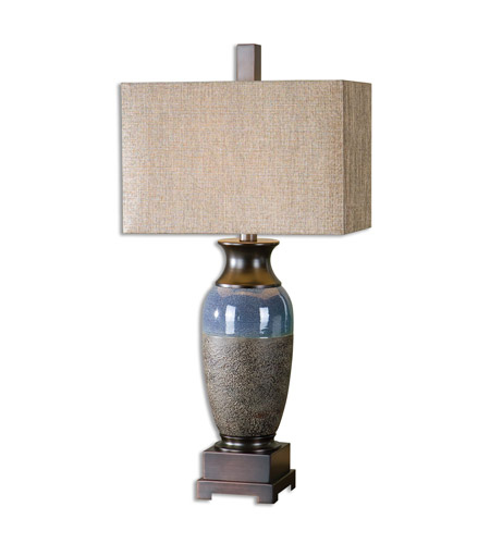 Textured Ceramic Fabric Table Lamps