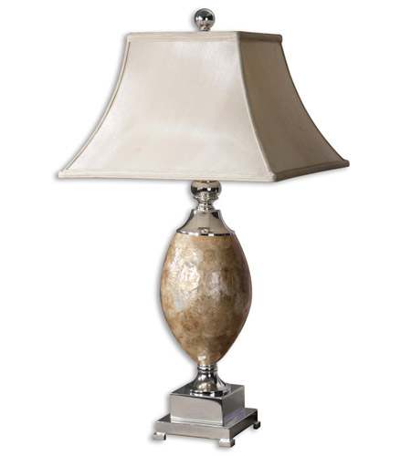 Uttermost Pearl Table Table Lamp in Real Roasted Mother Of Pearl 26981 photo