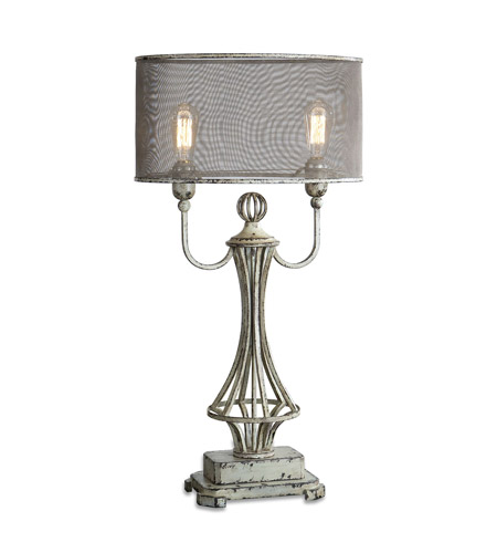 Ivory Metal Table Lamps