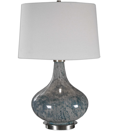 Uttermost Brass Fabric Table Lamps