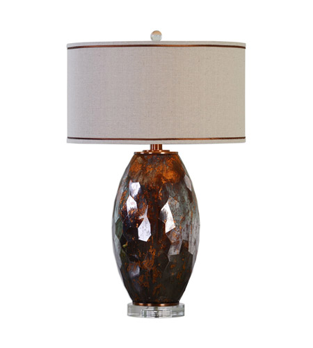 Uttermost Bronze Steel Table Lamps