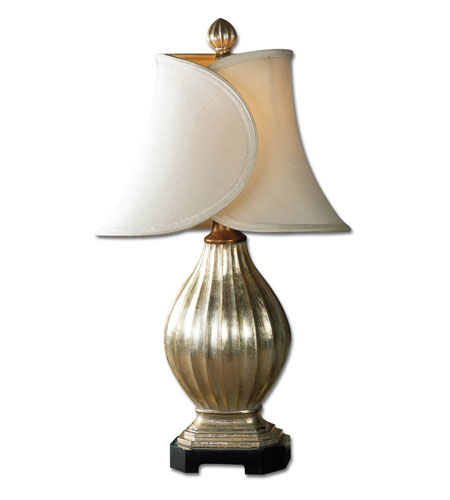 Uttermost Sloan Table Table Lamp in Warm Bronze & Silver 27166