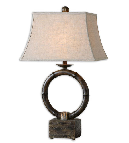 Uttermost Monson Table Lamp in Heavy Burnished Wash 27368