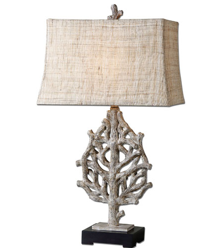 Uttermost Padroni Wood Styled Table Lamp in Wood Style 27460 photo