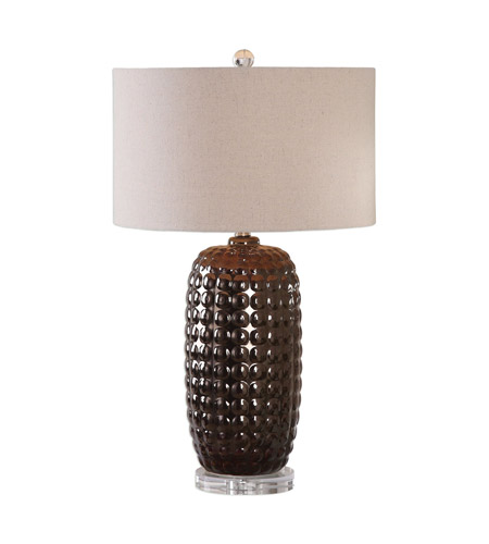 Uttermost Iron Crystal Table Lamps