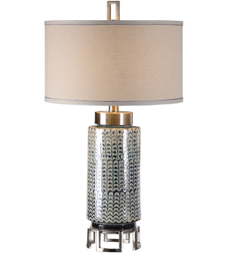 Plated Brushed Nickel Table Lamps
