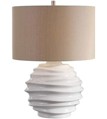 Uttermost Nickel Metal Table Lamps