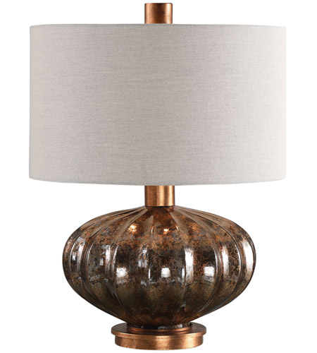 Copper and Bronze Table Lamps