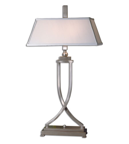 Uttermost Conway Table Lamp in Brushed Aluminum 27801 photo