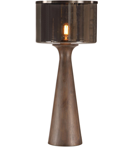 Uttermost Dark Bronze Steel Table Lamps