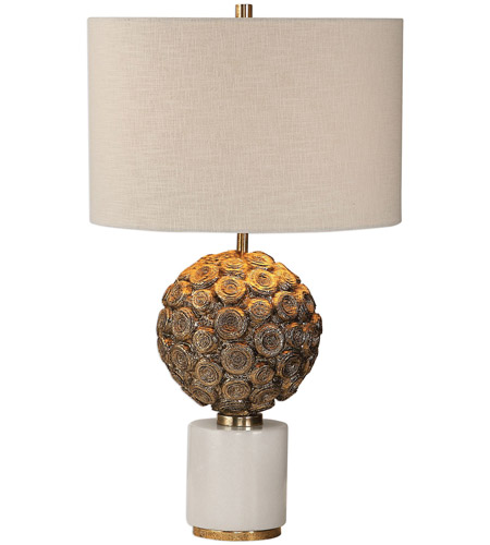 Uttermost White Iron Table Lamps