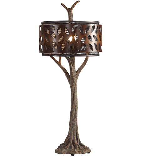 Uttermost Bronze Metal Table Lamps
