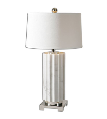 Uttermost White Metal Table Lamps