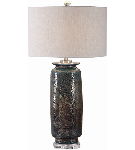 Uttermost 27919 Olesya 30 inch 150 watt Table Lamp Portable Light