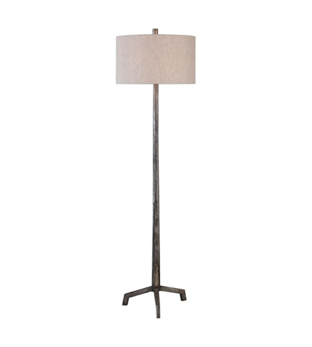 Uttermost 28118 ivor 62 inch 150 watt cast iron floor lamp for 150 watt floor lamp