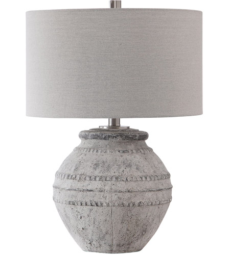 Uttermost 28212-1 Montsant 26 inch 150 watt Table Lamp Portable Light 28212-1_A.jpg